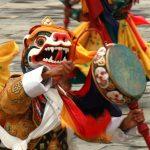 BHUTAN Festival mask