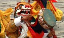 Bhutan,Festival mask