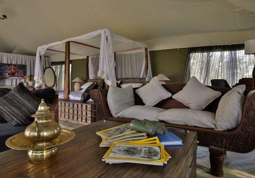 Tanzania, Naoma Moru tent