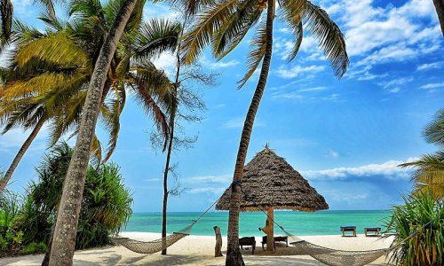 Tanzania Zanzibar Pongwe Beach Resort beach view