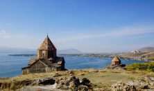 Armenia Sevan lake view