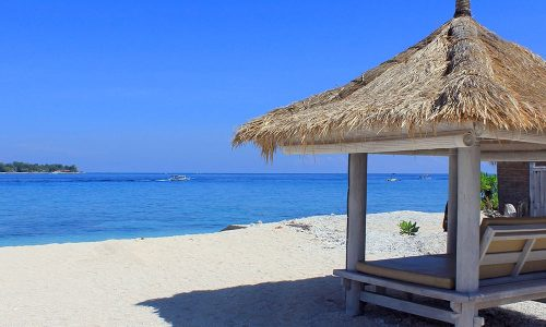 Gili Mahamaya beach view
