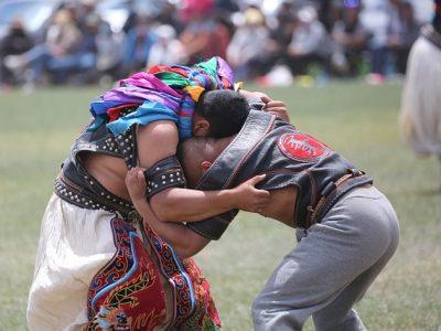 Mongolia wrestling